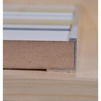 Alumínium C profil, panel élére