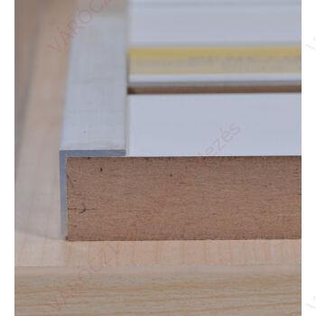 Alumínium L profil, panel élére, Eloxált