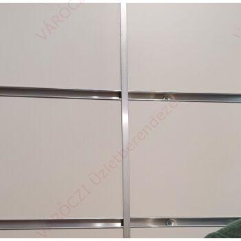 Alumínium T profil panelek összeillesztéséhez, KESKENY
