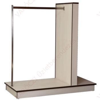 Vállfatartós gondola 15 cm osztású alusínes panelből, WOODLINE KRÉM