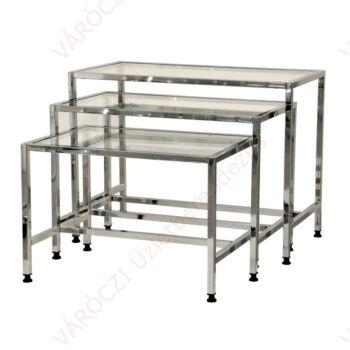 Asztalszett 3 db-os 70 x 50, 80 x 50, 90 x 50, 50-60-70 cm