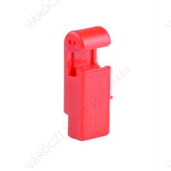 Biztonsági zár 5 mm szimpla kampóhoz