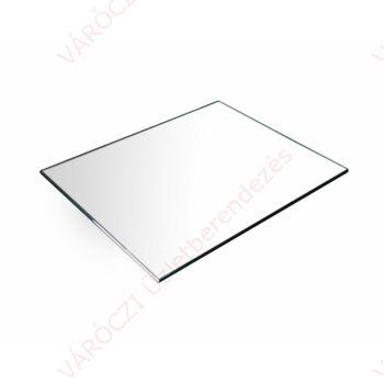 Üveglap polc, 4 oldalon körbecsiszolt, EDZETT üveglap 8 mm-es, 1200 mm széles, több méretben