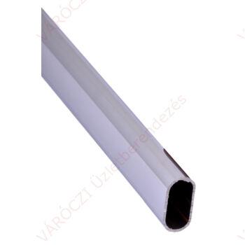Oválcső 15 x 30 mm 3 m-es szálban  Falvastagság: 0,7 mm