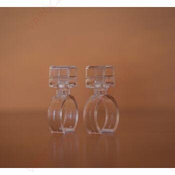 Plakátkeret rögzítő tartozék, 25 mm-es csőhöz