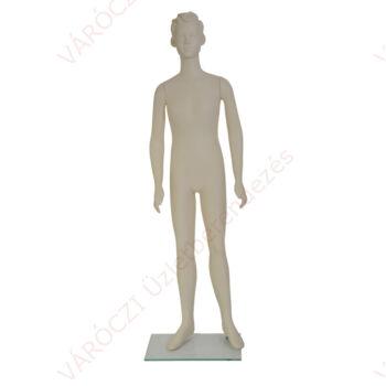 PASCAL egész alakos FIÚ baba, kőhajú, 160 cm, 7 év