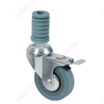 Gumikerék, Fékezhető, OL-ST sztenderekhez (80 mm)