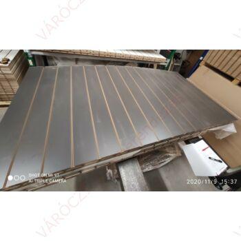 SÉRÜLT alusínes panel, 15 cm-es osztással, KŐSZÜRKE, 1195 x 2400 mm