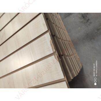 SÉRÜLT alusínes panel, 10 cm-es osztással, JUHAR, 1185 x 2400 mm