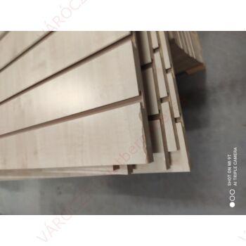 SÉRÜLT alusínes panel, 10 cm-es osztással, JUHAR, 1190 x 2400 mm