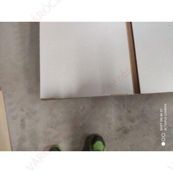 SÉRÜLT alusínes panel, 15 cm-es osztással, EZÜST, 1195 x 2400 mm