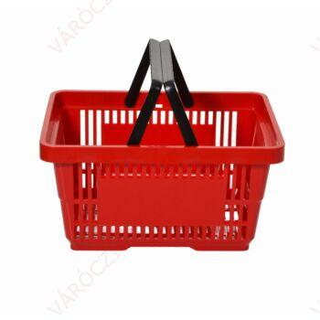 Bevásárlókosár, 22 literes, KÉTFÜLES, TÖBB SZÍNBEN