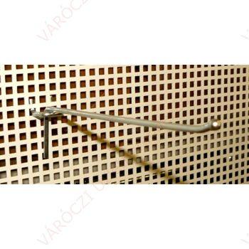 Perforált lemezbe akasztható horganyzott SZIMPLA kampó, többféle méretben