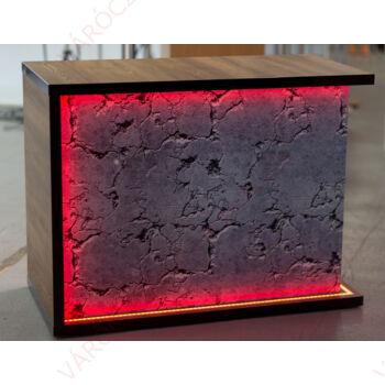 Faerezetes pult, EGYEDI DESIGN, többszínű világítással