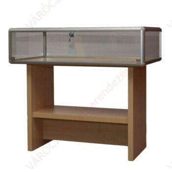 Asztal vitrin