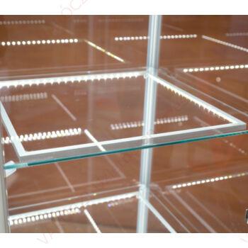 LED világítás vitrinbe, természetes fehér, (7 Watt / 110°), peremes foglalattal
