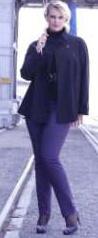 VÁRÓCZI Üzletberendezés blog - Szűk, a láb vonalát követő női nadrág